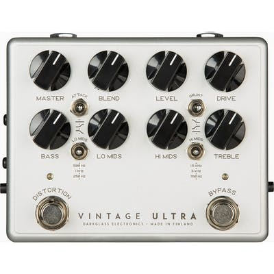 Darkglass Vintage Ultra V2 Bass Preamp Pedal With Aux In
