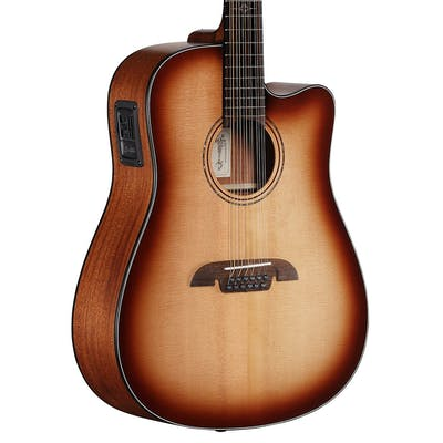 Alvarez AD6012CESHB Artist Series Dreadnought 12-String Electro-Acoustic Guitar with Cutaway in Shadowburst