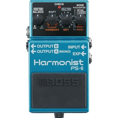 Boss PS-6 Harmonist Guitar Pitchshifter Pedal
