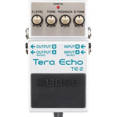 BOSS TE-2 Tera Echo Adaptive Delay Pedal