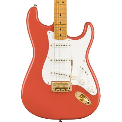 Squier FSR Classic Vibe '50s Stratocaster in Fiesta Red