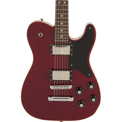Fender Limited Edition Made In Japan Troublemaker Tele in Crimson Red