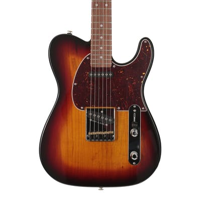 G&L USA Fullerton Deluxe ASAT Classic in 3-Tone Sunburst with Caribbean Rosewood Fingerboard