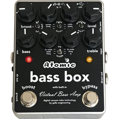 Atomic Bass Box Amp and Cab Sim Pedal