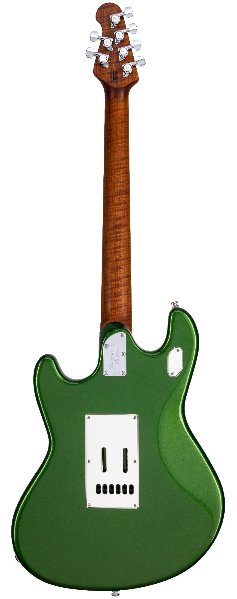 Music Man Stingray Rs Electric Guitar In Charging Green Andertons Music Co
