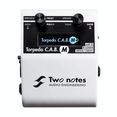 Two Notes Torpedo C.A.B. M+ Cabinet Simulator Pedal