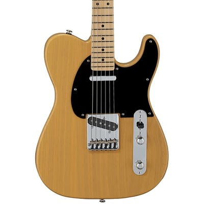 G&L USA Fullerton Deluxe ASAT Classic Alnico in Butterscotch Blonde