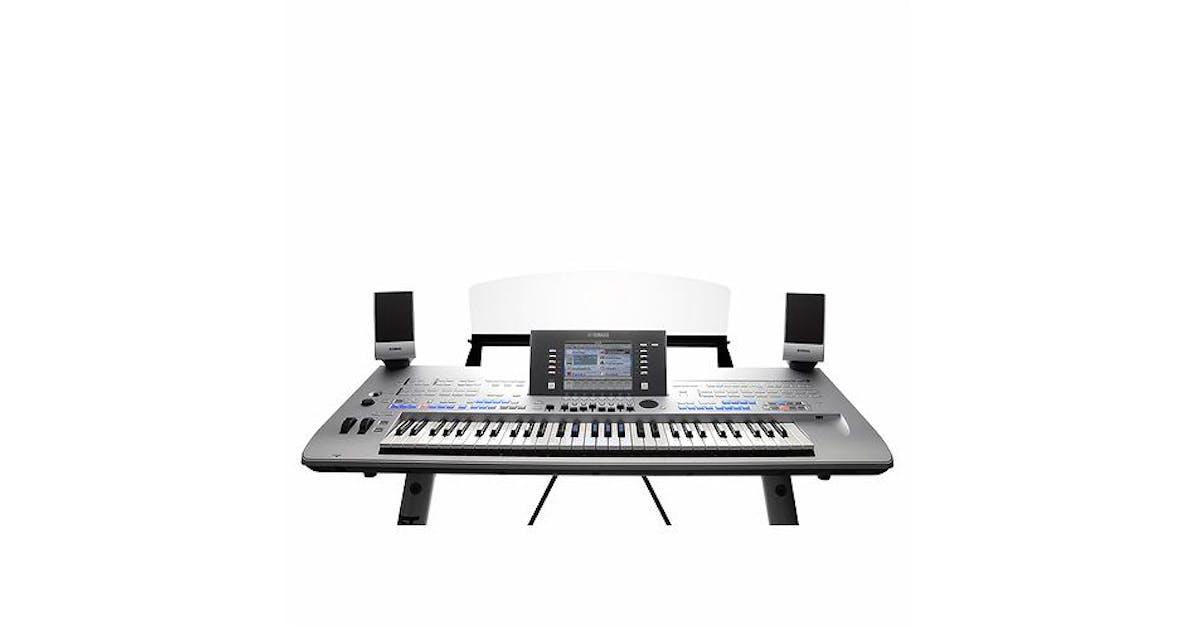 Yamaha Tyros 4 Keyboard with Speaker Set & Stand