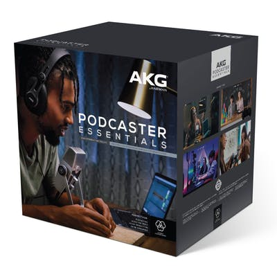 AKG Podcaster Essentials All-In-One Podcast Kit