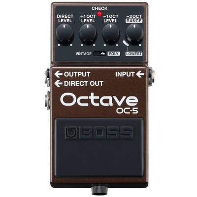 Boss OC-5 Guitar & Bass Octave Pedal
