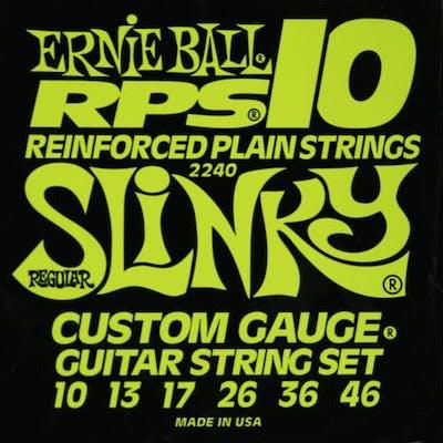 Ernie Ball RPS 10 Electric Guitar Strings