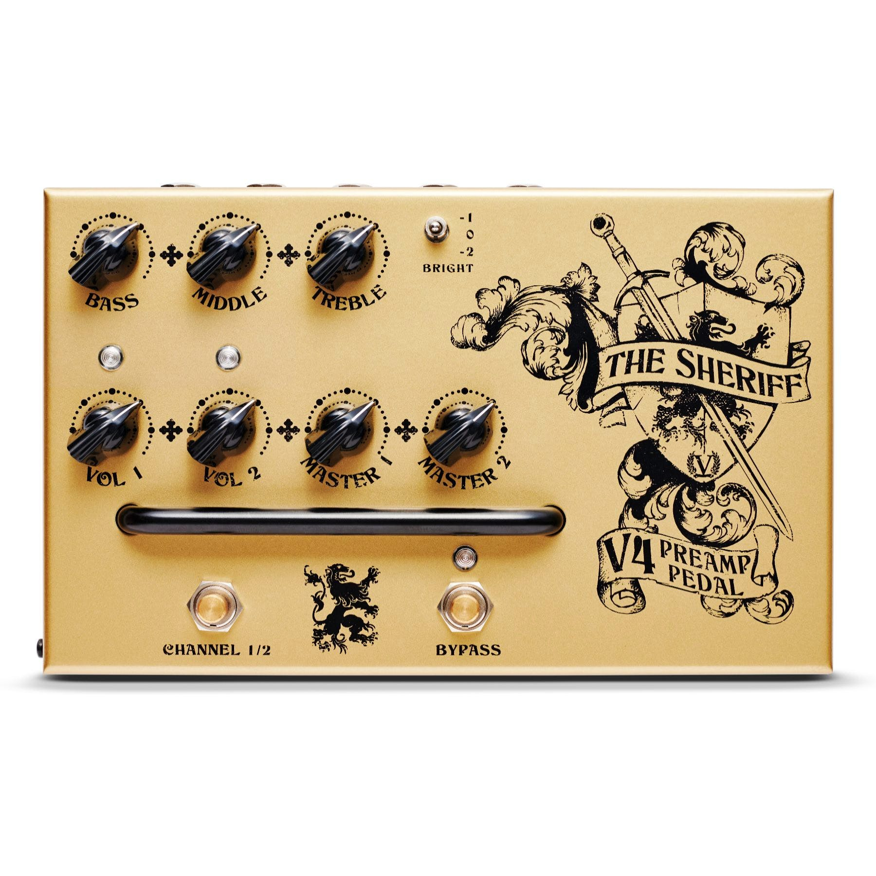 """Victory V4 'The Sheriff' Preamp Pedalfor{""""value"""":379.00,""""currency"""":""""GBP""""}"""