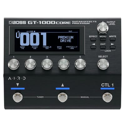 Boss GT-1000CORE Guitar Effects Processor Pedal