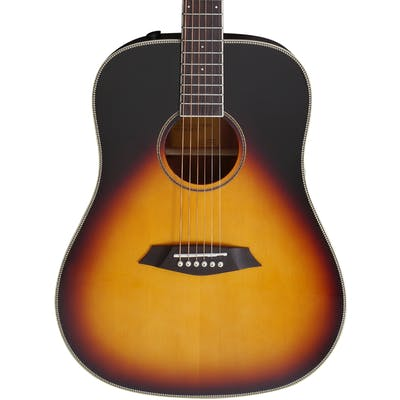 Sire Larry Carlton A3 Dreadnought Electro Acoustic in Vintage Sunburst