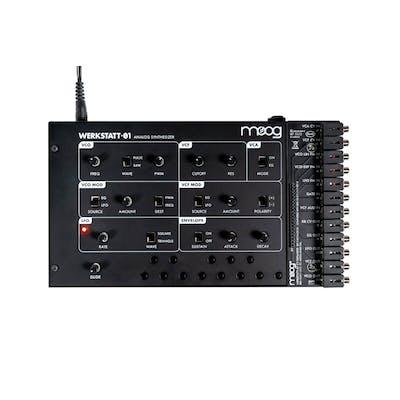 Moog Werkstatt-01 Analog Synthesizer with CV expander
