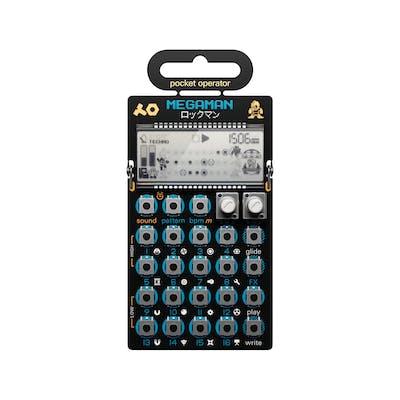 Teenage Engineering PO-128 Mega Man Pocket Operator Live Synthesizer & Sequencer
