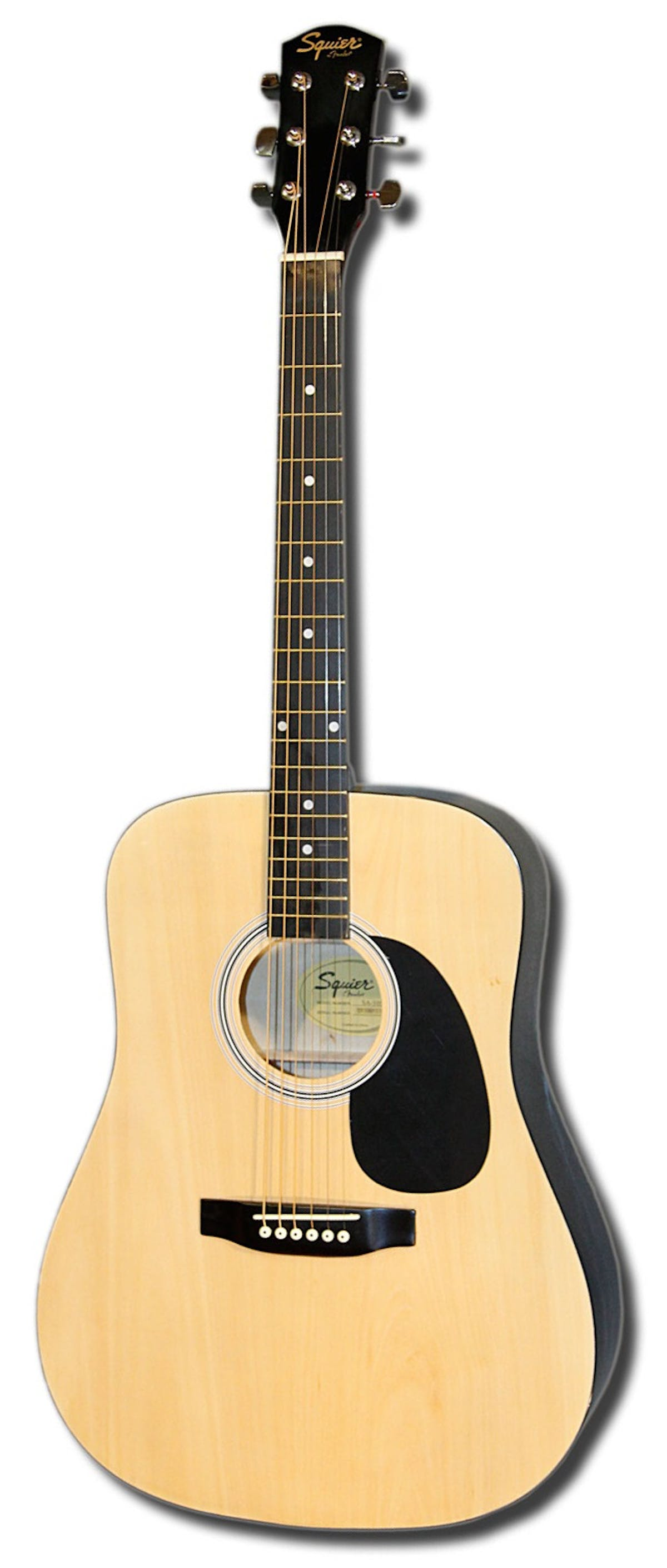 Squier Sa105 Acoustic Guitar In Natural Andertons Music Co
