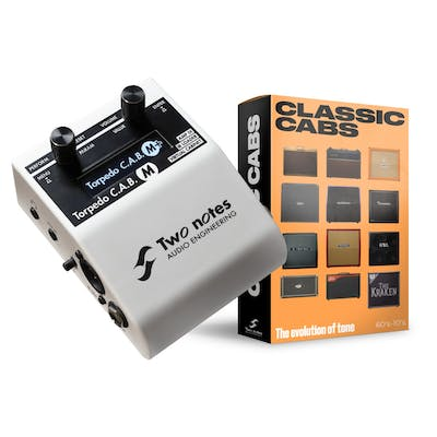 Two Notes Torpedo C.A.B. M+ Amp Simulator Pedal