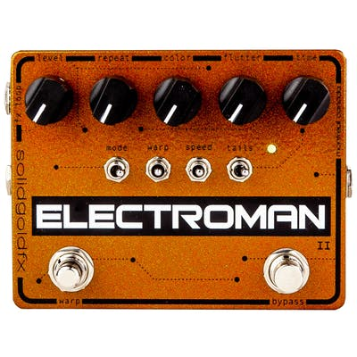 SolidGoldFX Electroman MKII Delay and Modulation Pedal
