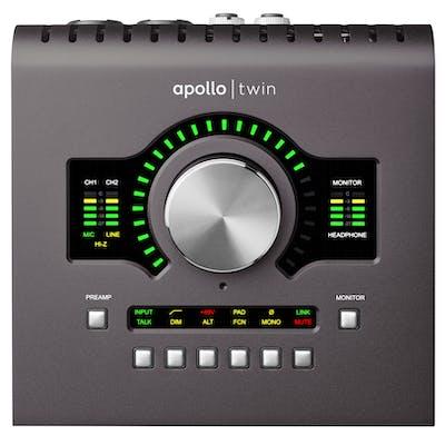 Universal Audio Apollo Twin MkII DUO Heritage Edition Thunderbolt 2 Interface