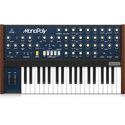 Behringer MonoPoly Analog Polyphonic Synthesizer