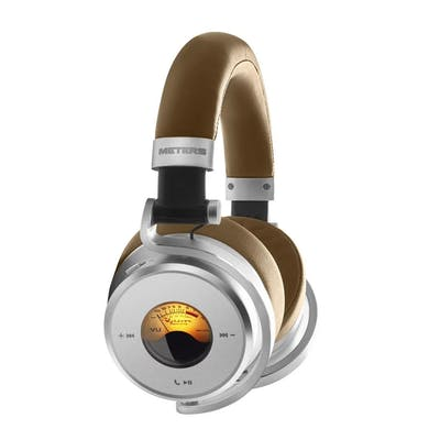 Meters OV-1-B-Connect Over-ear Active Noise Cancelling Bluetooth Headphones in Tan