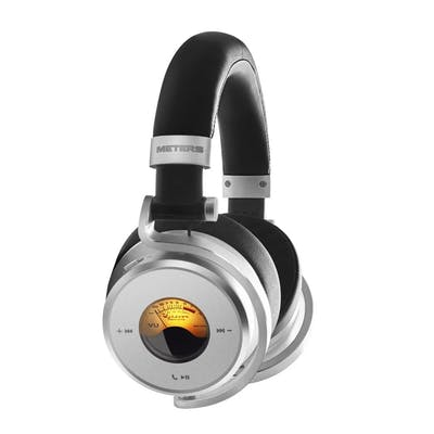 Meters OV-1-B-Connect Over-ear Active Noise Cancelling Bluetooth Headphones in Black