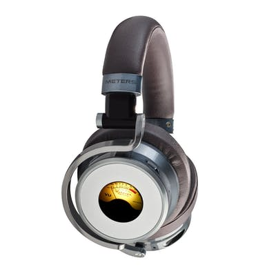 Meters OV-1-B-Connect Meters Edition Over-ear Active Noise Cancelling Bluetooth Headphones in Gun Metal Grey