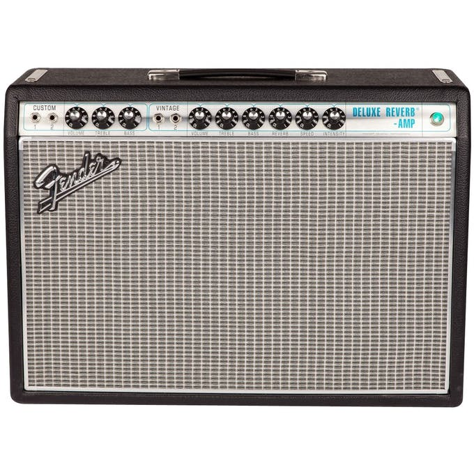 Fender 68 Custom Deluxe Reverb Guitar Amplifier