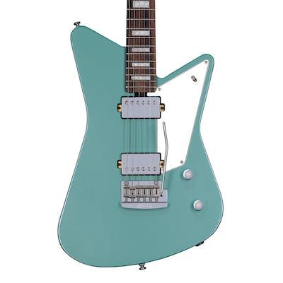 Sterling By Music Man Mariposa Guitar in Dorado Green