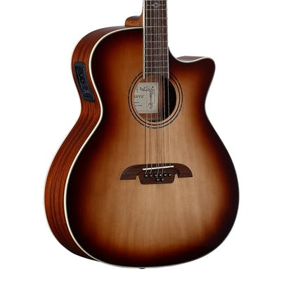 Alvarez Artist AG60-8CESHB Grand Auditorium 8-string baritone electro acoustic in Shadowburst