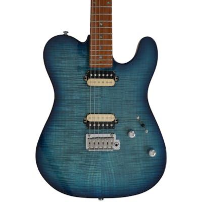 Sire Larry Carlton T7 FM Electric Guitar in Transparent Blue