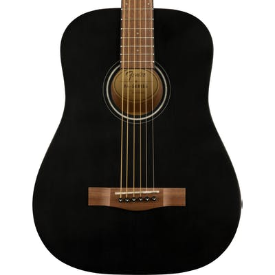 Fender Limited Edition FA 15 3/4 Size Steel String Acoustic in Black