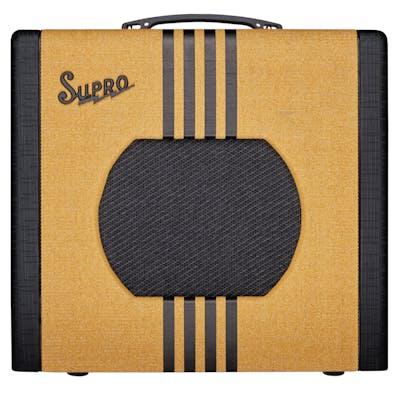 Supro Delta King 10 5 Watt 1x10 Combo Amp in Tweed