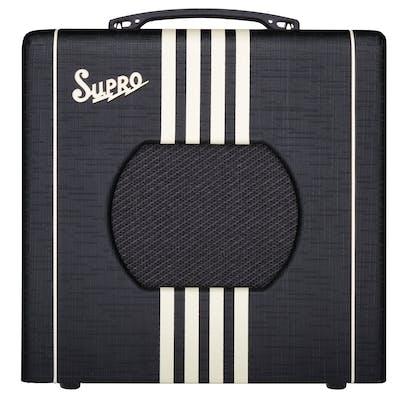 Supro Delta King 8 1 Watt 1x8 Combo Amp in Black