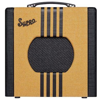 Supro Delta King 8 1 Watt 1x8 Combo in Tweed