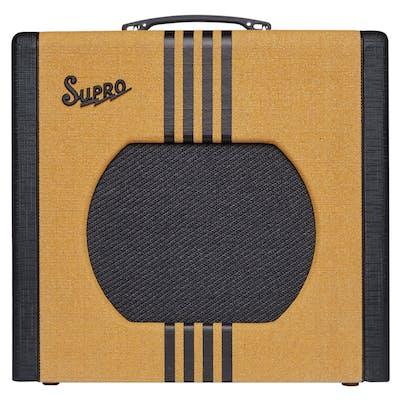 Supro Delta King 12 15 Watt 1x12 Reverb Combo Amp in Tweed