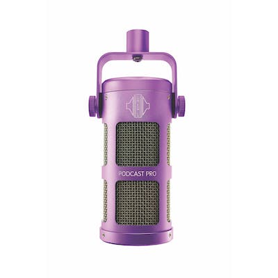 Sontronics Podcast Pro Dynamic Microphone in Purple