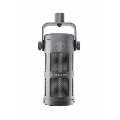 Sontronics Podcast Pro Dynamic Microphone in Cosmic Grey