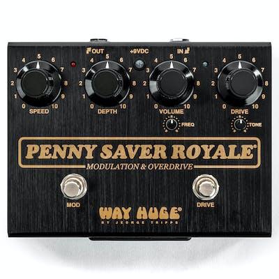 Way Huge WHE901 Penny Saver Royale Joe Bonamassa Signature Modulation & Overdrive Pedal
