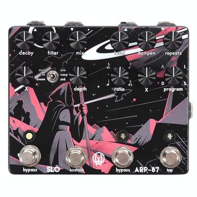 Walrus Audio Limited Edition 'SLARP' 2-in-1 Slö Reverb & ARP-87 Delay Pedal