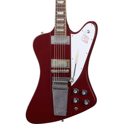 Gibson Custom Shop Murphy Lab 1963 Firebird V with Maestro Vibrola Ultra Light Aged in Ember Red