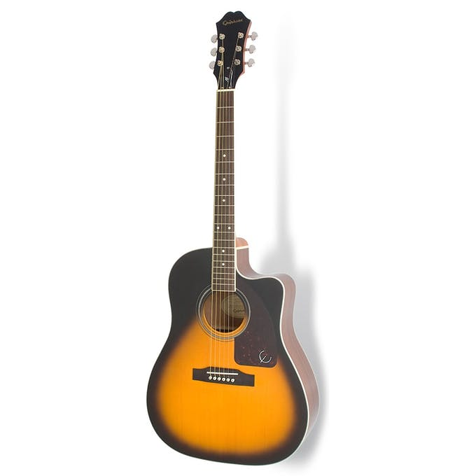 0901c272c1 Epiphone AJ-220SCE Electro Acoustic Guitar in Vintage Sunburst ...