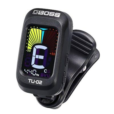 Boss TU-02 Clip-On Guitar Tuner
