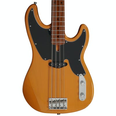 Sire Marcus Miller D5 Alder 4-String Fretless Bass Guitar in Butterscotch Blonde