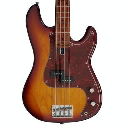 Sire Marcus Miller P5 Alder 4-String Fretless Bass Guitar in Tobacco Sunburst