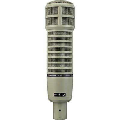 Electro Voice RE20 Broadcast Announcer Cardioid Microphone w/ Variable-D