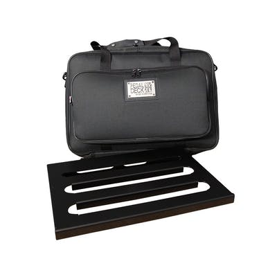 Pedaldeck Player Pedalboard with Tough Gig Travel Bag