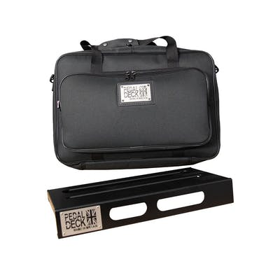 Pedaldeck Solo Pedalboard with Tough Gig Travel Bag