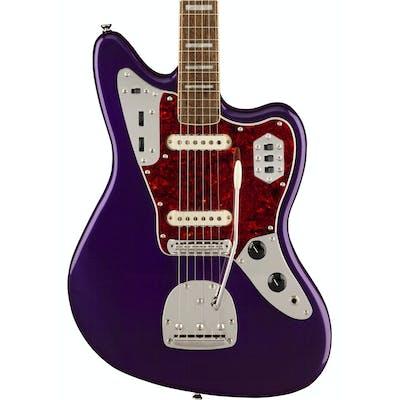 Squier FSR Classic Vibe '70s Jaguar in Purple Metallic